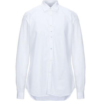 コストメイン COSTUMEIN メンズ シャツ トップス solid color shirt White
