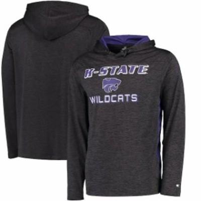 Colosseum コロセウム スポーツ用品  Colosseum Kansas State Wildcats Black Wingman Hooded T-Shirt