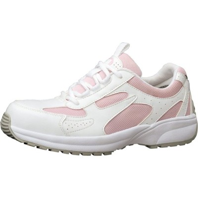 [ミドリ安全] 安全作業靴 JSAA認定 女性用 プロスニーカー SL602 ピンク 22.5 cm 3E