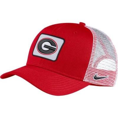 ナイキ メンズ 帽子 アクセサリー Nike Men's Georgia Bulldogs Red Classic99 Trucker Hat
