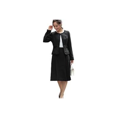 [アウニイ] セレモニースーツ レディース スカート ジャケット ワンピース セットアップ スーツ 式服