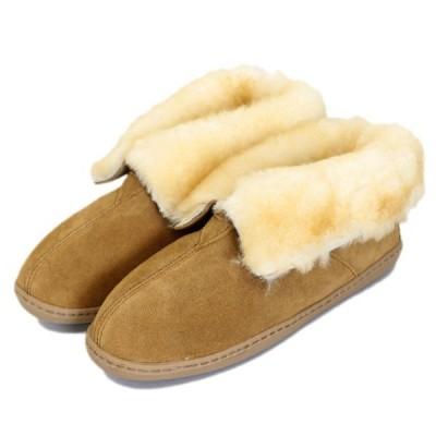 MINNETONKA(ミネトンカ) Sheepskin Ankle Boot(シープスキンアンクルブーツ) #3351 GOLDEN TAN レディース MT403