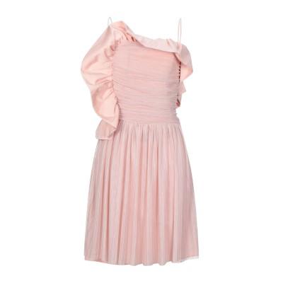 ピンコ PINKO ミニワンピース&ドレス パステルピンク 42 ポリエステル 100% ミニワンピース&ドレス