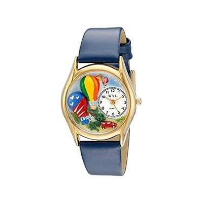 【新品・送料無料】Whimsical Watches - Analog quartz Wristwatch, Leather
