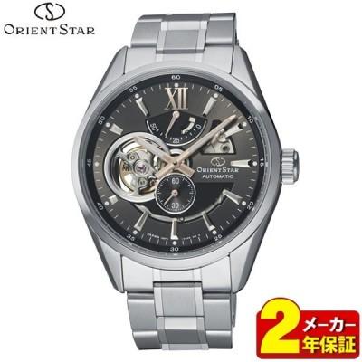 ポイント最大15倍 ORIENT STAR オリエントスター 機械式 自動巻き RK-AV0005N モダンスケルトン メンズ 腕時計 国内正規品 シルバー