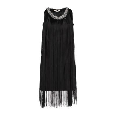 MANGANO ミニワンピース&ドレス ブラック XS/S ポリエステル 100% ミニワンピース&ドレス