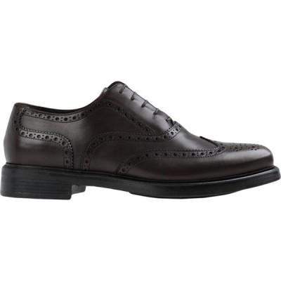 ソステネ SOSTENE メンズ 革靴・ビジネスシューズ ダービーシューズ シューズ・靴 derby vitello laced shoes Cocoa