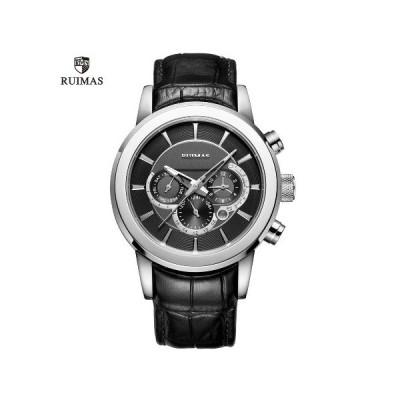 機械式自動巻き RUIMAS 高級メンズ腕時計(カラータイプ:2種類)並行輸入品