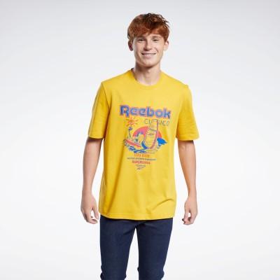 【Reebok公式通販】 クラシックス Tシャツ / Classics T-Shirt フィアスゴールド / リーボック