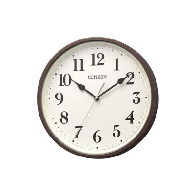 CITIZEN(シチズン) 電波掛時計/掛置兼用 茶メタリック色 8MYA42-006(取寄せ/代引不可)