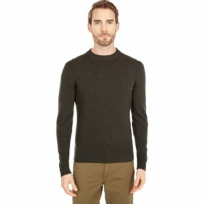 フェールラーベン Fjallraven メンズ ニット・セーター トップス Ovik Round-Neck Sweater Dark Olive