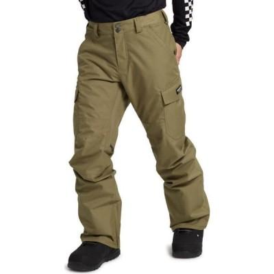 バートン Burton メンズ スキー・スノーボード カーゴ ボトムス・パンツ Cargo Regular Snowboard Pants Martini Olive