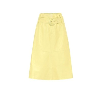 プロエンザ スクーラー Proenza Schouler レディース ひざ丈スカート スカート leather midi skirt Lemon