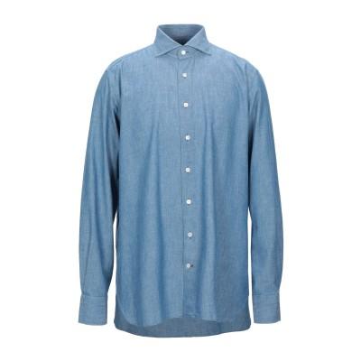 100 HANDS シャツ ブルー 43 コットン 100% シャツ
