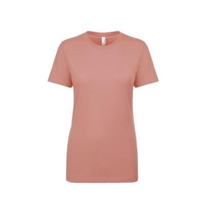 レディース 衣類 トップス Next Level NL3900 - Women's Boyfriend Tee X-Small Desert Pink Tシャツ
