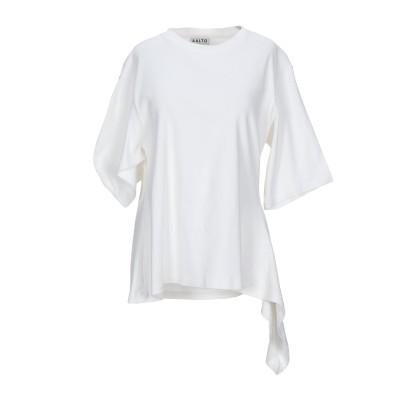 アールト AALTO T シャツ ホワイト 38 コットン 100% T シャツ