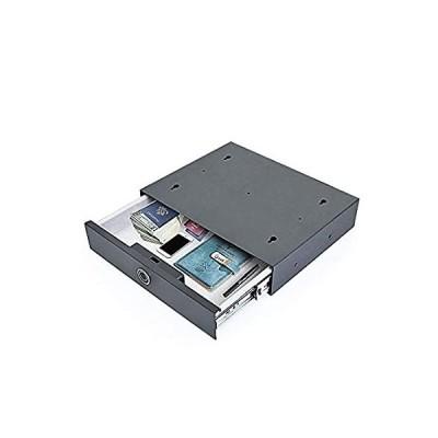 Portable Biometric Fingerprint Lock Box Cash Jewelry Safe Box for Travel Ca