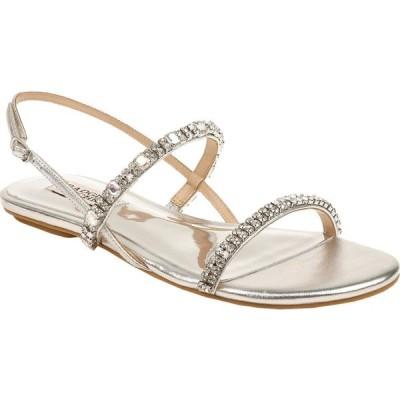 バッジェリー ミシュカ Badgley Mischka レディース サンダル・ミュール シューズ・靴 Zandra Silver