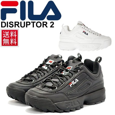スニーカー シューズ メンズ レディース フィラ FAIL ディスラプター DISRUPTOR ダッドスニーカー  ホワイト ブラック ダッドシューズ /F0215