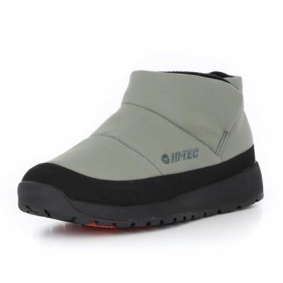 シューズ ショートブーツ ブーツ ハイテック メンズ レディース 防寒 防炎 撥水 暖かい 無地 カーキ OCOTA FR MOC HI-TEC