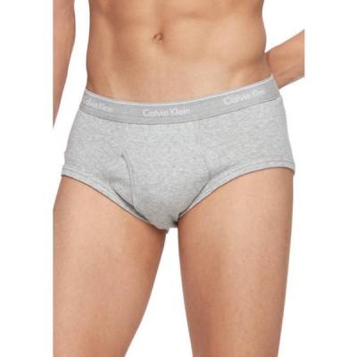 カルバンクライン メンズ ボクサーパンツ アンダーウェア 4 Pack Cotton Classics New Briefs