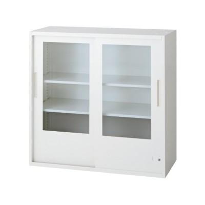 L6 引違いガラス保管庫 L6-90G-C W4 jtx 648330 プラス 送料無料