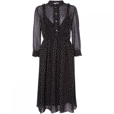 イブルース iBlues レディース ワンピース ワンピース・ドレス Ittico spot shirt dress Black