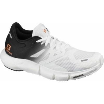 サロモン レディース スニーカー シューズ Women's Salomon Predict 2 Running Sneaker White/Black/White