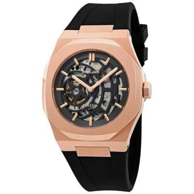 D1ミラノ 腕時計 D1 Milano P701 Automatic Skeleton Dial メンズ Watch SKRJ03