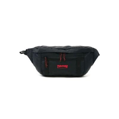 (THRASHER/スラッシャー)スラッシャー バッグ THRASHER ウエストバッグ ウエストポーチ ボディバッグ Benchmark Waist Bag L THR-139/ユニセックス ブラック