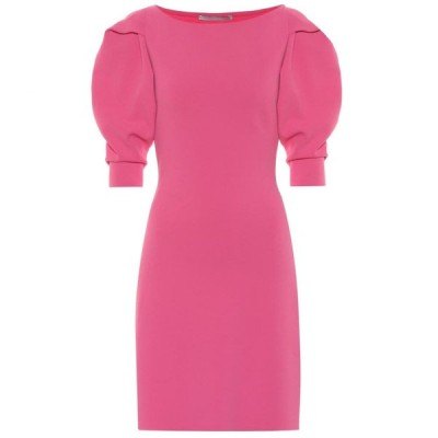 ステラ マッカートニー Stella McCartney レディース パーティードレス ワンピース・ドレス compact-knit minidress Pink