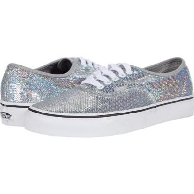 ヴァンズ Vans レディース スニーカー シューズ・靴 Authentic(TM) Micro Sequins) Silver/True White