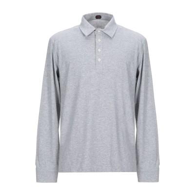 マッシモピオンボ MP MASSIMO PIOMBO ポロシャツ ライトグレー XXS コットン 100% ポロシャツ