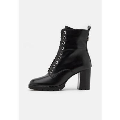 デューンロンドン レディース 靴 シューズ PASSO - Lace-up ankle boots - black