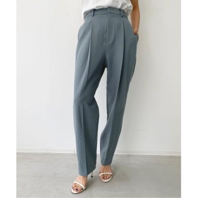 レディース アパルトモン Lisiere Tuck Pants ブルー A 36