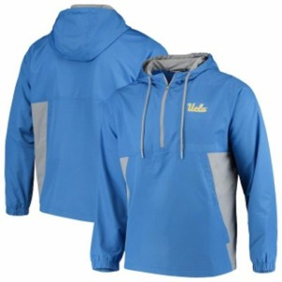 Under Armour アンダー アーマー スポーツ用品  Under Armour UCLA Bruins Blue/Gray Lightweight Quarter-Zip Anorak Jacket