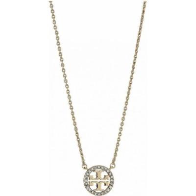 トリー バーチ Tory Burch レディース ネックレス ジュエリー・アクセサリー Crystal Logo Delicate Necklace