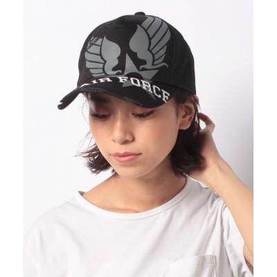 【ユグランス】 AX AF MESH CAP ユニセックス ブラック FREE JUGLANS