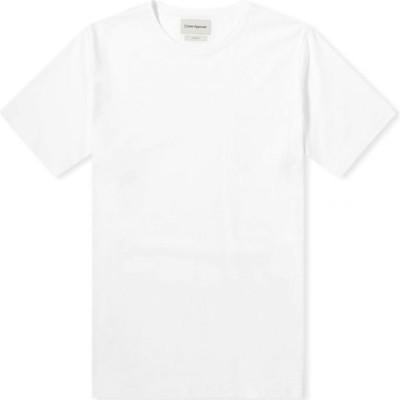 オリバー スペンサー Oliver Spencer メンズ Tシャツ トップス oli's tee White