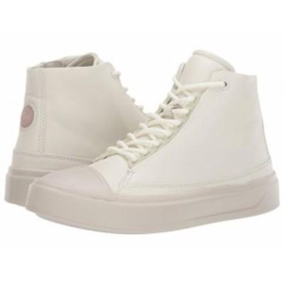 ECCO エコー レディース 女性用 シューズ 靴 スニーカー 運動靴 Flexure T-Cap High Top Shadow White【送料無料】