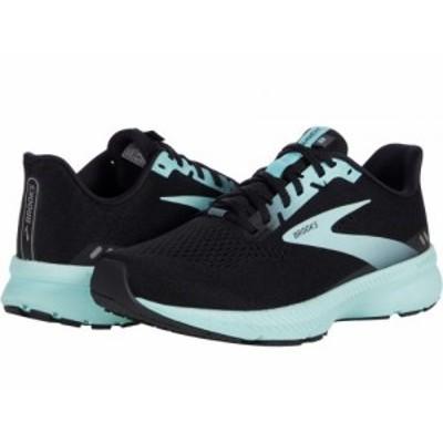 Brooks ブルックス レディース 女性用 シューズ 靴 スニーカー 運動靴 Launch 8 Black/Ebony/Blue Tint【送料無料】