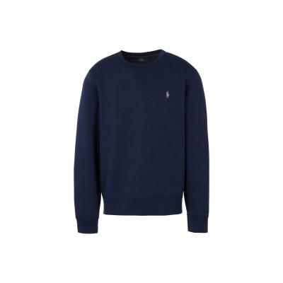 POLO RALPH LAUREN スウェットシャツ ダークブルー XL ポリエステル 58% / コットン 42% スウェットシャツ