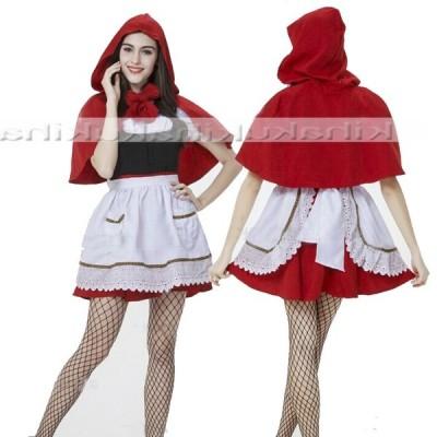 赤ずきん コスプレ 衣装 コスチューム 大人用 セクシードレス ハロウィン仮装 エプロン