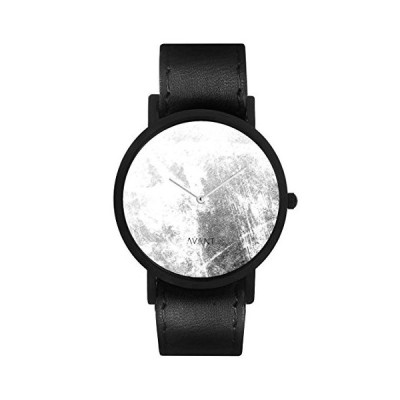 South Lane Unisex AW18-103 Analog Display Swiss Quartz Black Watch 並行輸入品