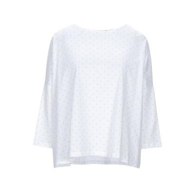 CUCÙ LAB T シャツ ホワイト 44 コットン 100% T シャツ