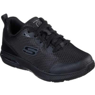 スケッチャーズ Skechers レディース スニーカー シューズ・靴 Work Relaxed Fit Dyna-Air SR Sneaker Black