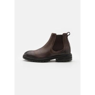 ハドソンロンドン ブーツ&レインブーツ メンズ シューズ CANFORD - Classic ankle boots - brown