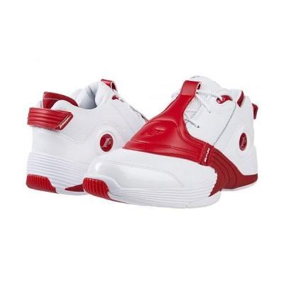 Reebok Lifestyle リーボック メンズ 男性用 シューズ 靴 スニーカー 運動靴 Answer V - White/Red
