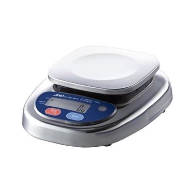 A&D 取引証明用 防塵・防水デジタルはかり HL-2000iWP-K-A2 ひょう量:2000g 最小表示:2g(使用範囲:40g~200