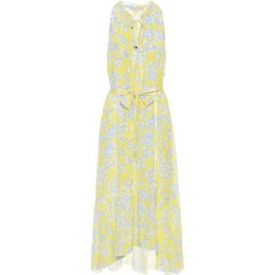 ハイジ クライン Heidi Klein レディース ワンピース ミドル丈 ワンピース・ドレス Cancun Floral Silk Midi Dress Print